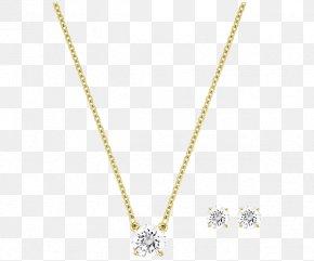 Swarovski Jewelry Gemstone Sets - Necklace Pendant Chain Body Piercing Jewellery Pattern PNG