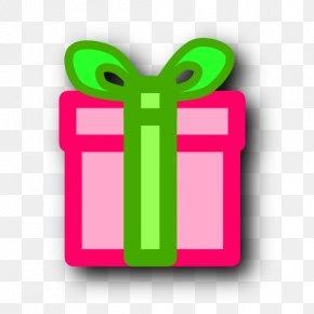 Present - Santa Claus Christmas Gift Clip Art PNG