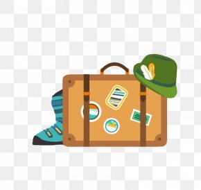 A Person's Travel - Vacation Clip Art PNG