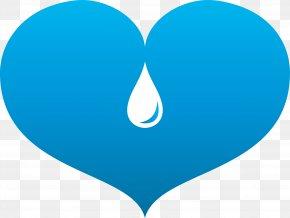 Blue Heart - Blue Heart Vecteur PNG