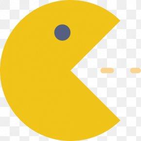 Yellow Pac-Man - Pac-Man Download Clip Art PNG
