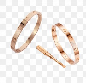 Rose Gold Ring - T-shirt Love Bracelet Cartier Jewellery PNG