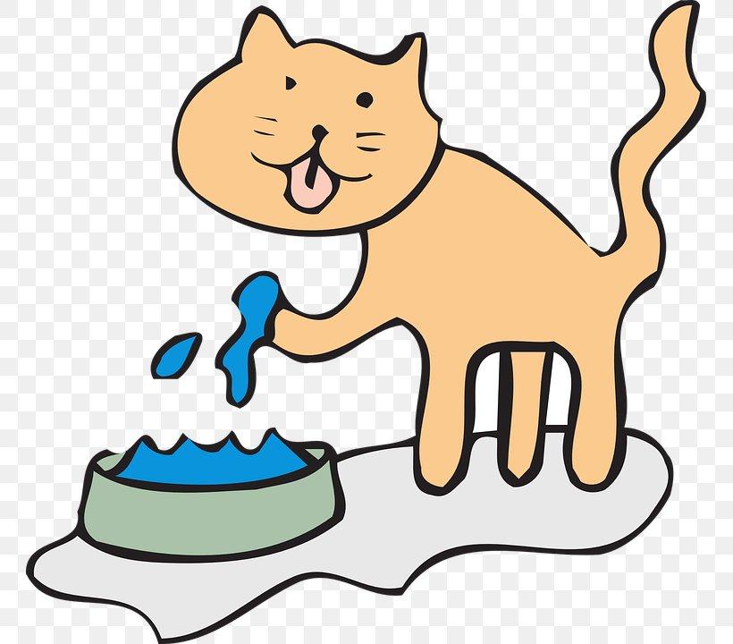 Cat Kitten Drinking Clip Art, PNG, 761x720px, Cat, Artwork, Bowl, Carnivoran, Cat Like Mammal Download Free