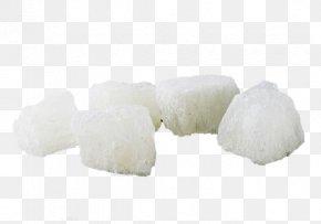 White Rock Sugar - Rock Candy Sucrose Sugar PNG