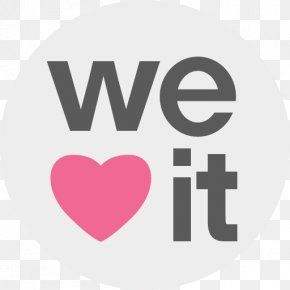 Social Media - Social Media We Heart It Logo PNG