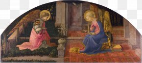 Child Painting - Annunciation Of San Giovanni Valdarno National Gallery Painting Annunciation In Christian Art PNG