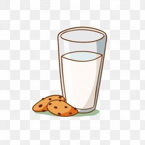 Ahoy Free Milk Creative Pull - Breakfast Milk Food Cookie PNG