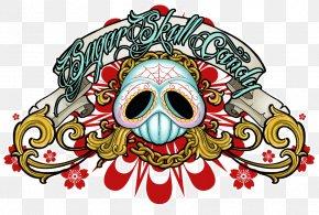 Free Skull Tattoo Designs To Print - Calavera Skull Logo Clip Art PNG