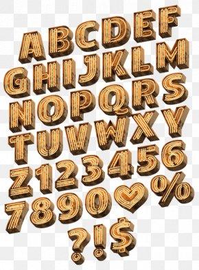 Light - Light Typography Adobe InDesign Color Font PNG