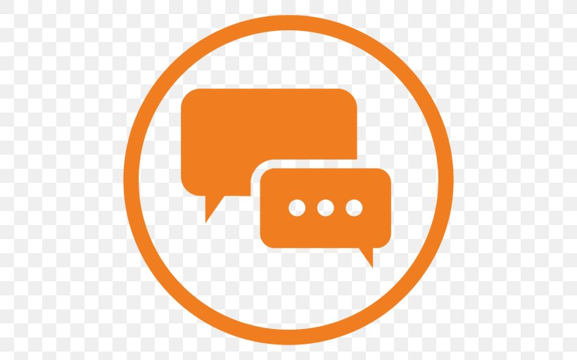 Online Chat, PNG, 512x512px, Online Chat, Area, Brand, Computer Graphics, Orange Download Free