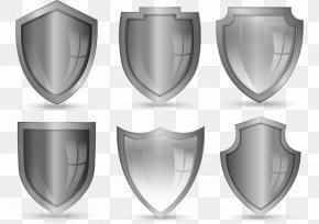 Vector Hand-painted Shield - Shield Drawing PNG