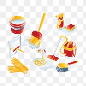Cleaning Supplies - Cleaner Maid Service Euclidean Vector Icon PNG
