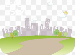 Cartoon City Vector - Cartoon Download PNG