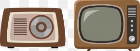 Vector Old TV Air Conditioning - Television Hotel Gratis PNG