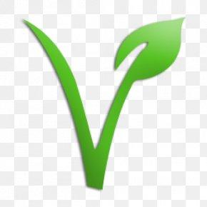 Plant Stem Symbol - Green Leaf Plant Logo Flower PNG