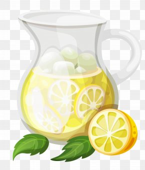 Transparent Ice Lemonade Clipart - Lemonade Juice Pitcher Kool-Aid Clip Art PNG