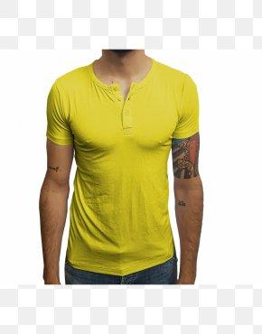 T-shirt - T-shirt Henley Shirt Collar Sleeve Clothing PNG