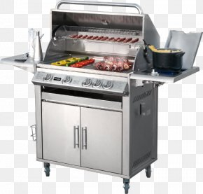 Barbecue - Barbecue Cooking Ranges Stainless Steel Oven Brenner PNG