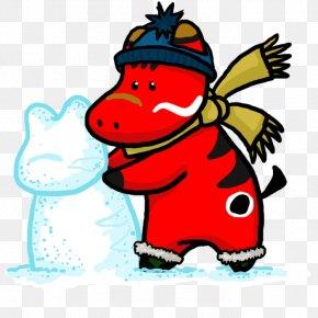 Snow Accumulation - Beak Cartoon Character Clip Art PNG