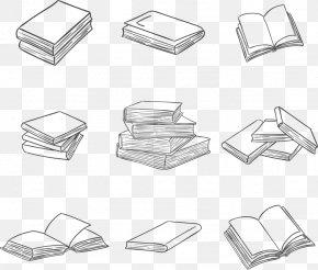 Open Books,Fold Books - Book Euclidean Vector Download PNG