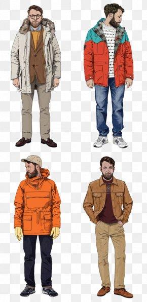Mature Man - Fashion Illustration Drawing Clothing Illustration PNG