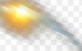 Halo - Light Yellow Pattern PNG