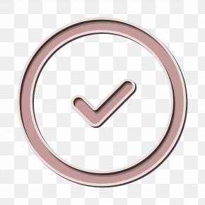 Symbol Metal - Check Icon Circle Icon PNG