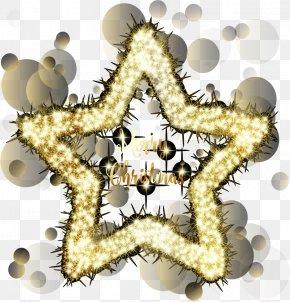 Glow Pentacle - Pentagram Pentacle Clip Art PNG