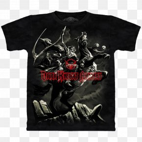 T-shirt - T-shirt Death Four Horsemen Of The Apocalypse PNG