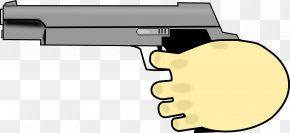 Hand With Pistol - Trigger Firearm Handgun Gun Barrel HTML5 Video PNG