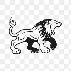 Lion - Lion Logo Decal Clip Art PNG