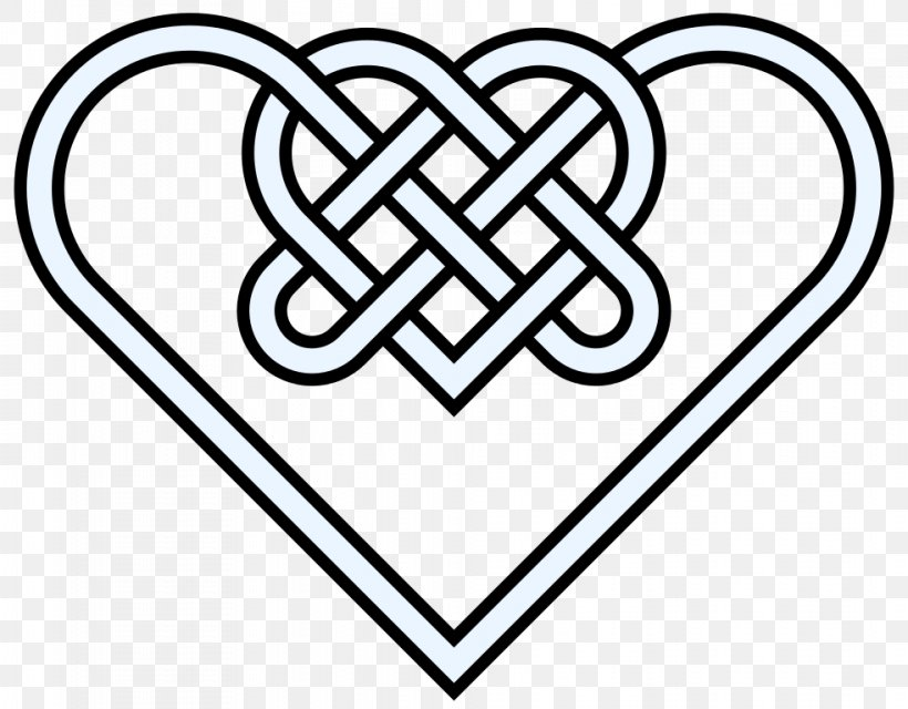 Celtic Knot Celts Heart Clip Art Png 983x768px Celtic Knot Area Black And White Brand Celtic