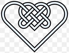 Double Heart Images - Celtic Knot Celts Heart Clip Art PNG