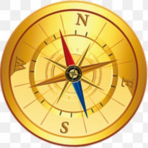 Red And Blue Pointer Compass - Compass Google Images Download Tourism PNG