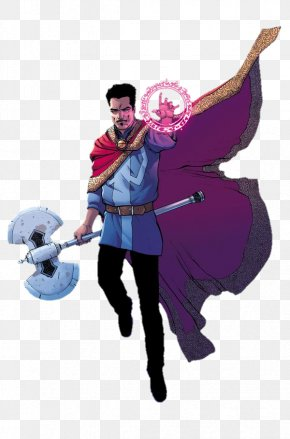Doctor Strange Transparent Background - Doctor Strange Captain America Miles Morales Iron Man Thor PNG