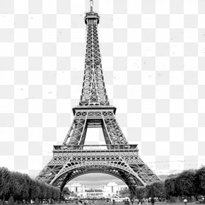 Paris TOWER - Eiffel Tower Statue Of Liberty Seine Exposition Universelle PNG