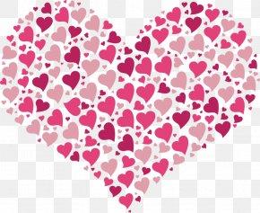 Hearts - Heart Valentine's Day Desktop Wallpaper Clip Art PNG