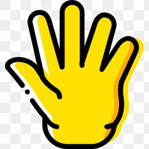 Hand - Middle Finger Index Finger Hand PNG