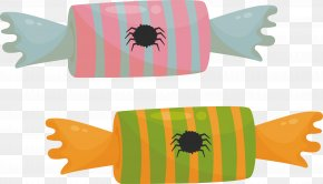 Spider Stripes Candy PNG
