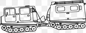 Marine Corps Clipart - Bandvagn 206 Vehicle Continuous Track Military Clip Art PNG