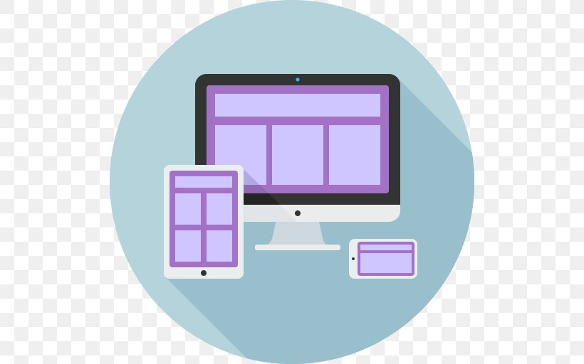 Responsive Web Design Icon Design Page Layout Grid, PNG, 512x512px, Responsive Web Design, Area, Grid, Icon Design, Page Layout Download Free