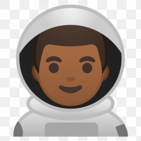 Emoji - Emojipedia Astronaut Human Skin Color Space Suit PNG