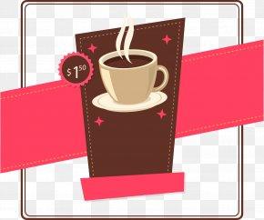 Vector Coffee Price Tag - Irish Coffee Cappuccino Cafe Brewed Coffee PNG