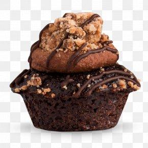 Chocolate Cake - Muffin Chocolate Brownie Crumble Cupcake Chocolate Cake PNG