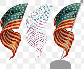 Exquisite Pattern Of Five Starred Red Flag - Flag Of The United States Independence Day Clip Art PNG