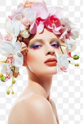 Iris Woman - Eye Shadow Flower Cosmetics Color PNG