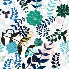 Decorative Flower Pattern Vector Material Free Buckle - Flower PNG