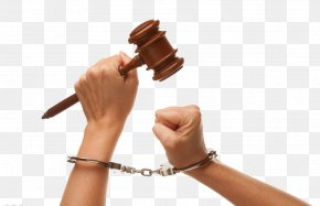 Hands With Handcuffs - Handcuffs Stock Photography PNG
