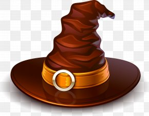 Halloween Hat - Witch Hat Halloween Clip Art PNG