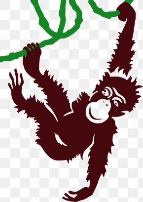 Gorilla - Ape Gorilla Mandrill Monkey Clip Art PNG